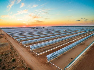 A CSP Project in South Africa, which is part of the portfolio