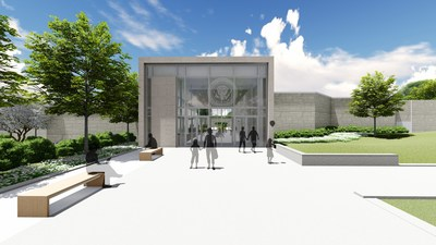 The Truman Library in Independence, Mo. is launching a $25 million renovation that includes this new entrance and a complete renovation of its museum galleries. The new exhibits will tell the story of America's 33rd president, Harry S. Truman, for modern audiences. The renovations begin in July and will be completed in late summer or early fall of 2020, in time for the 75th anniversary of the Truman presidency (1945-53). www.TrumanLibraryInstitute.org