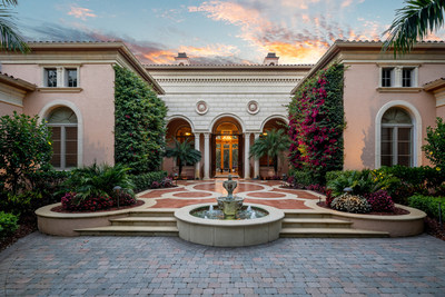 One of the finest estate homes and views in Mediterra in Naples, Florida.