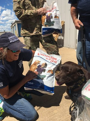 One and a Half Tons of Love and Support Delivered for U.S. Veterans and Service Dogs
