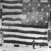 The Star-Spangled Banner, the flag that inspired Francis Scott Key to write America's National Anthem, has been conserved by the Smithsonian's National Museum of American History where it is on permanent exhibit.