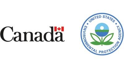 Logo : Gouvernement du Canada ; Environmental Protection Agency des États-Unis (Groupe CNW/Environnement et Changement climatique Canada)