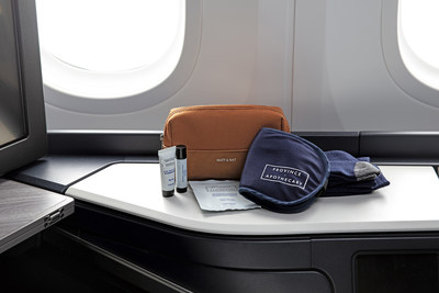 Business Cabin Amenity Kits featuring Matt & Nat and Province Apothecary (CNW Group/WESTJET, an Alberta Partnership)