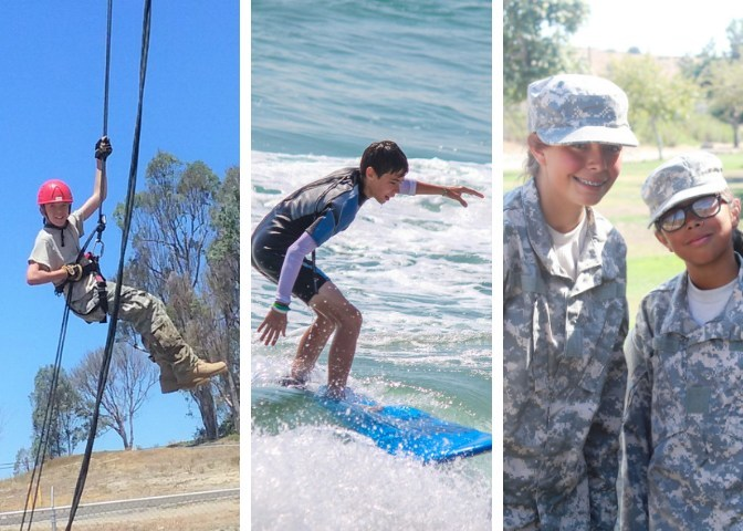Army and Navy Academy's leadership and recreation summer camps!