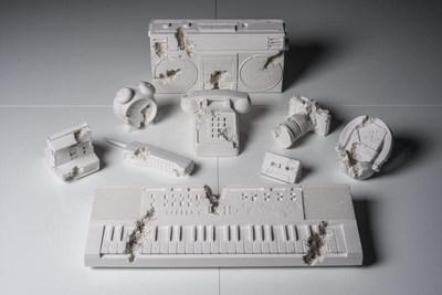 Daniel Arsham, Future Relic Complete Excavation Set (nine works), plaster and broken glass, 2013, estimate: $15,000 - $20,000