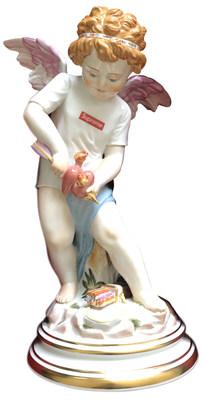 Supreme x Meissen, Cupid, hand-painted porcelain figurine, 2019, estimate: $7,000 - $9,000