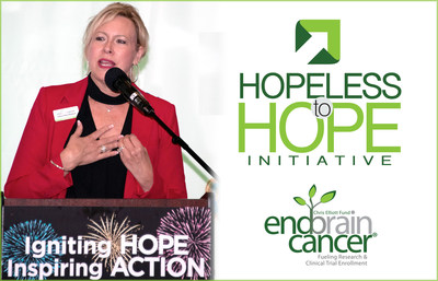 Dellann Elliott Mydland, President & CEO of the EndBrainCancer Initiative announces the Hopeless to HOPE campaign, focused on providing more treatment options for brain cancer patients and recruiting more clinical trials to the Greater Puget Sound area.