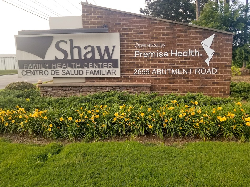 The Shaw Family Health Center, operated by Premise Health, serves Shaw's 15,000 Dalton-based associates and their dependents ages 2 and older.