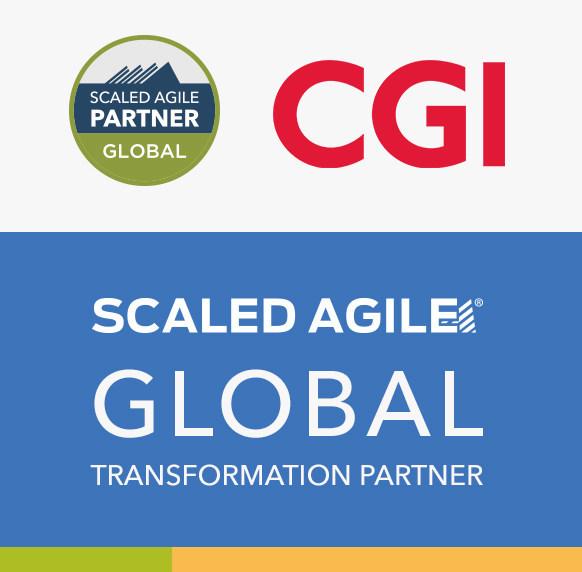 Scaled Agile dá as boas-vindas à CGI como parceiro global de transformação (PRNewsfoto/Scaled Agile, Inc.)