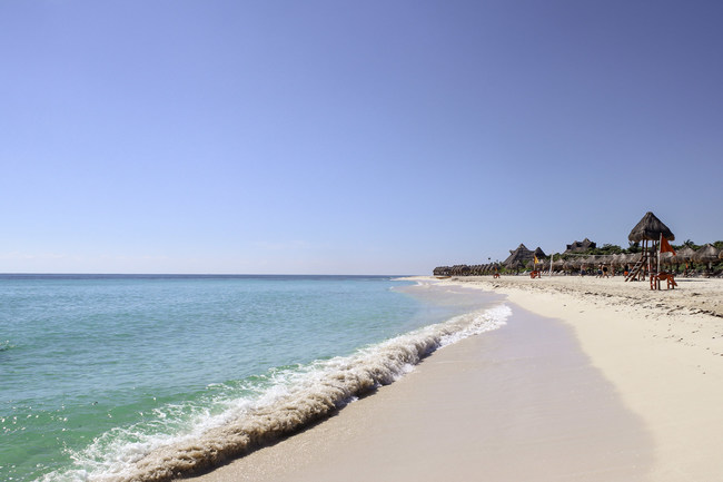 Over 2 kms of private beach grace this exclusive resort