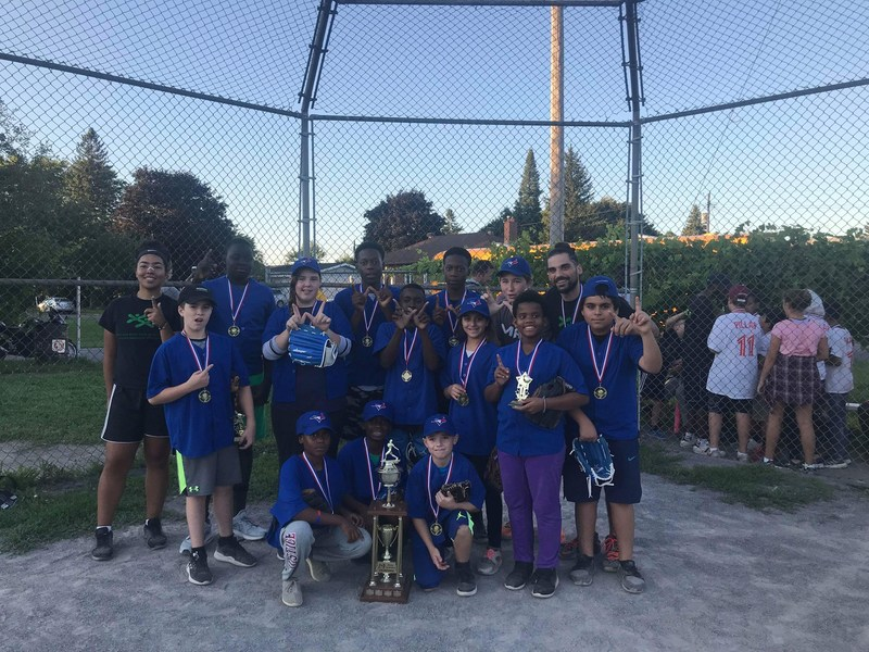 Boys and Girls Club Baseball Winning Team 2018 Lixar Lightening (CNW Group/Lixar IT)