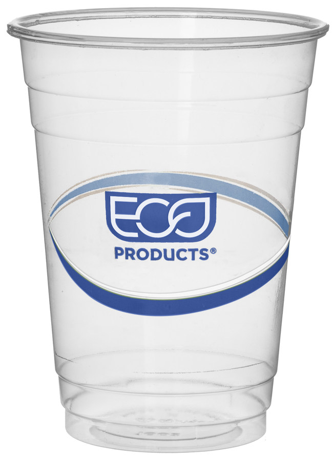 "Eco-Products is increasing the post-consumer recycled plastic content in its BlueStripe Cold Cups from 25% to 30%. The BlueStripe cups, available in 9-, 12-, 16-, 20- and 24-ounce sizes, perform like traditional plastic cups but use post-consumer recycled resin, which comes from plastic bottles. ""BlueStripe cups provide a balance of performance and environmental benefits,"" says Sarah Martinez of Eco-Products. ""They're a way to give plastic bottles a new life and keep them out of landfills."""