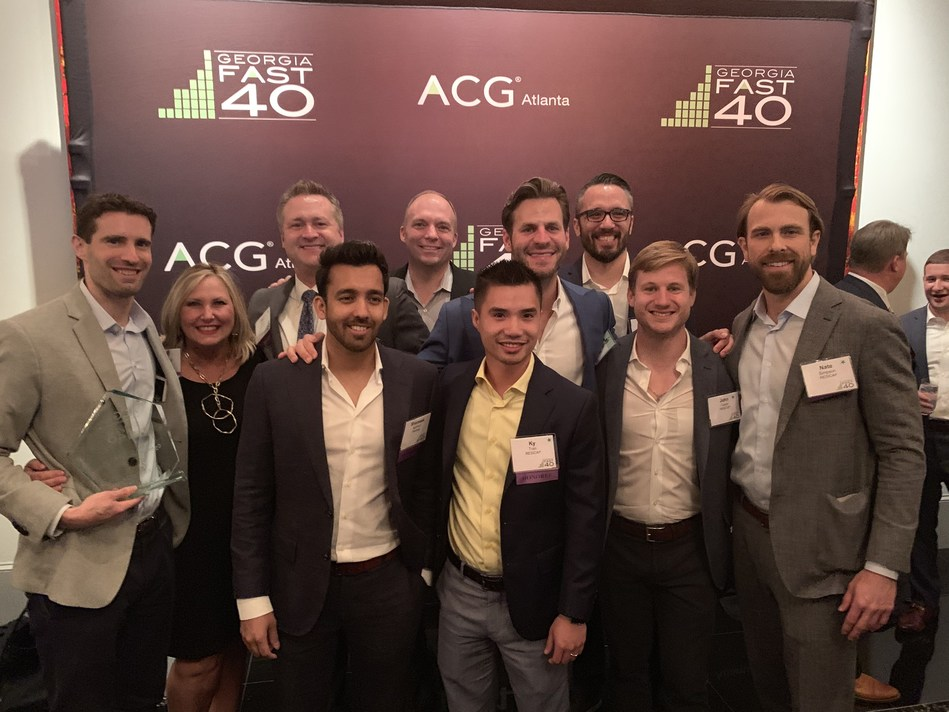 The RESICAP team attends the 2019 Georgia Fast 40 Awards Dinner & Gala hosted by the Atlanta Association for Corporate Growth (ACG).