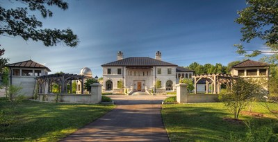 This modified Palladian-style estate is the pinnacle of luxury with the utmost attention to detail, complete with private observatory. Selling at or above $1.675M, don't miss this auction opportunity beginning June 24th!