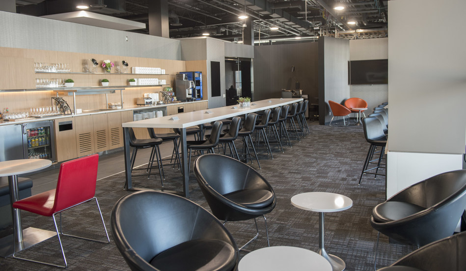 Air Canada Introduces Maple Leaf Lounge Express: Another Convenient Way to Work or Relax before Flying to the U.S. from Toronto Pearson (CNW Group/Air Canada)