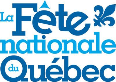Logo : La fête nationale du Québec (Groupe CNW/FETE NATIONALE DU QUEBEC)