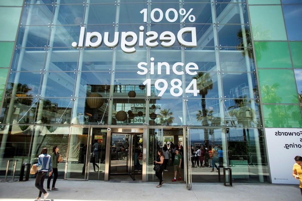 best online classic style wholesale sales Desigual beginnt eine neue Phase mit einem neuen Logo, das ...
