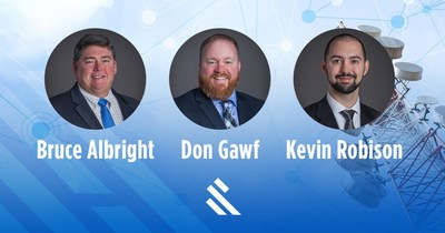 Burns & McDonnell is expanding broadband field area network service capabilities within its telecommunications practice with the addition of three experienced telecommunications engineers with specialized knowledge in private LTE networks.
