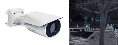New H4 Thermal camera will enable users to see more detail from greater distances even in complete darkness. (CNW Group/Avigilon Corporation)