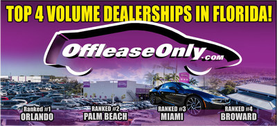 Online Used Car Giant Offleaseonly Ranked 1 2 3 And 4 In