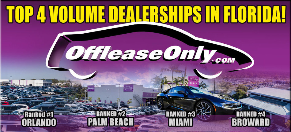 Used Cars Florida >> Online Used Car Giant Offleaseonly Ranked 1 2 3 And 4