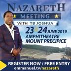 TB Joshua to Host Meeting in Nazareth, Israel