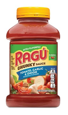 RAGU Chunky Tomato, Garlic & Onion 45oz Jar