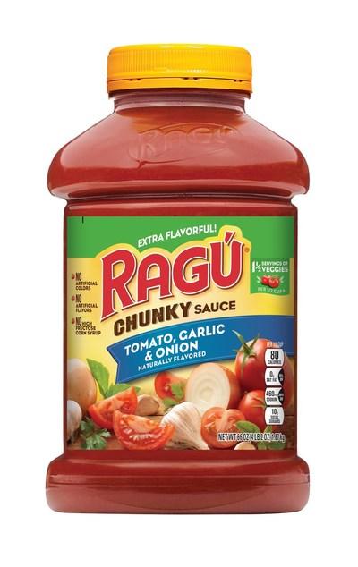 RAGU Chunky Tomato, Garlic & Onion 66oz Jar