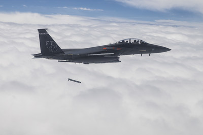 Raytheon's StormBreaker™ smart weapon has completed operational testing, and will enable fighter pilots to hit maneuvering targets in adverse weather. (Photo: U.S. Air Force)
