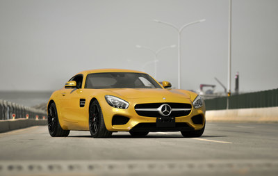 Mercedes-AMG GT, part of the new Kollektion 7 - Made in Germany, exclusively from Hertz