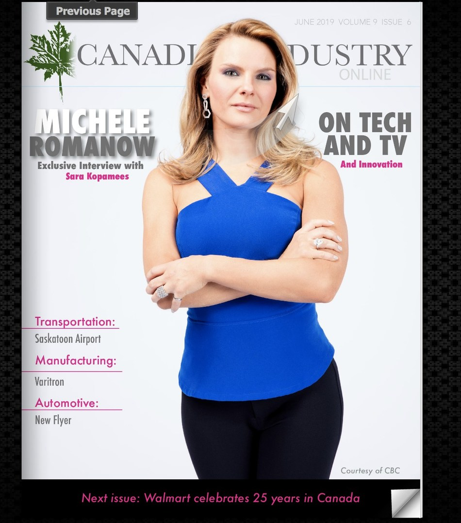 CBC Dragons' Den investor Michele Romanow (CNW Group/Industry Media)