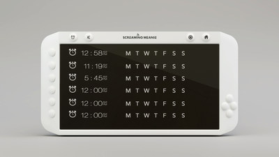 Forte has 6 customizable alarms. Each alarm can be set to display an icon as a reminder of the reason for the alarm