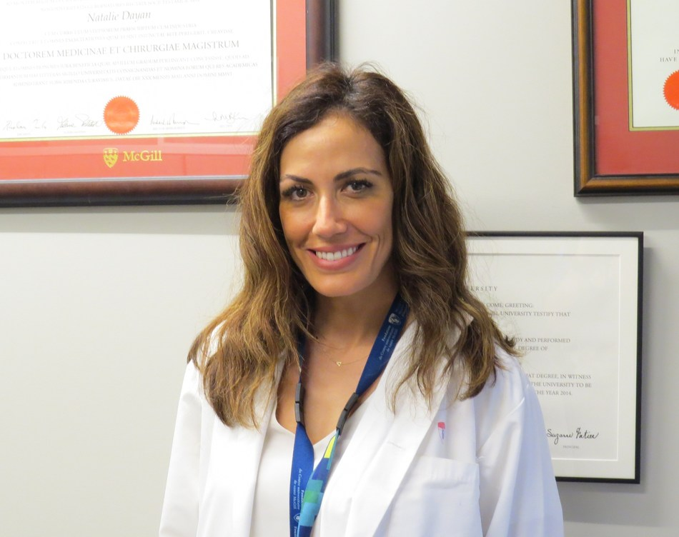 Dr. Natalie Dayan (CNW Group/Heart and Stroke Foundation)