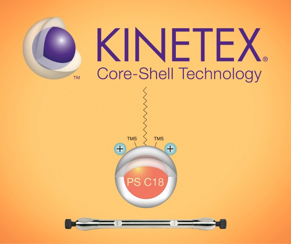 Phenomenex introduces new advanced multimodal core-shell LC selectivity with Kinetex PS C18.