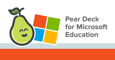 Edtech leader Pear Deck announces integrations with Microsoft PowerPoint and Teams to help even more teachers deliver powerful learning moments.
