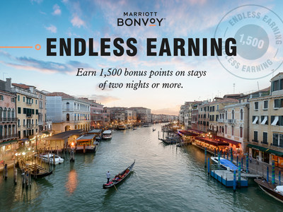Marriott Bonvoy Member Point Promotion