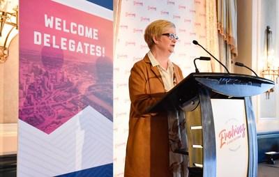 Sarah K. Jones, ARP, FSCRP LM (Groupe CNW/Société canadienne des relations publiques)