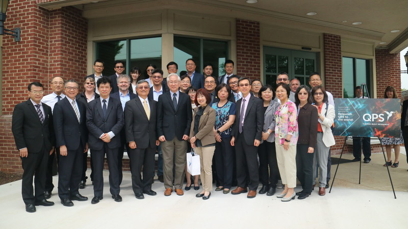 A large delegation of Taiwanese government and industry experts visits the QPS LLC Global Headquarters in Newark, DE.
