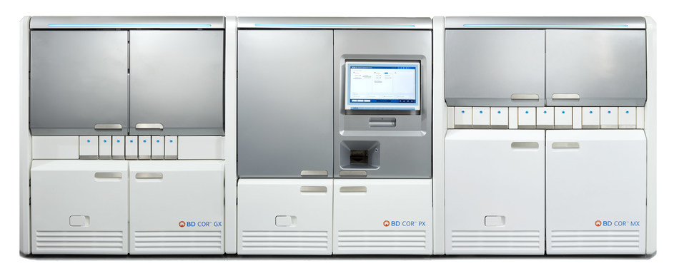 Front view of the BD COR™ System.