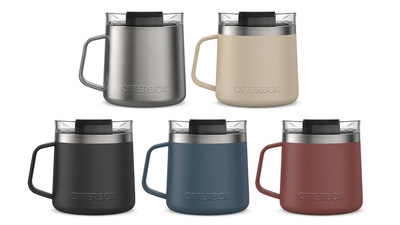 OtterBox introduces the Elevation 14 Mug featuring a handle and new colors.