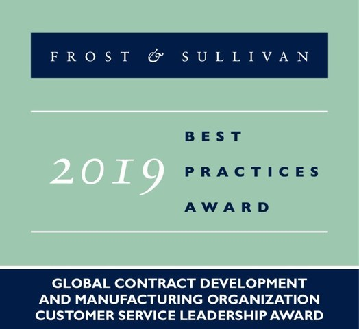 2019 Global Contract Development and Manufacturing Organization Customer Service Leadership Award