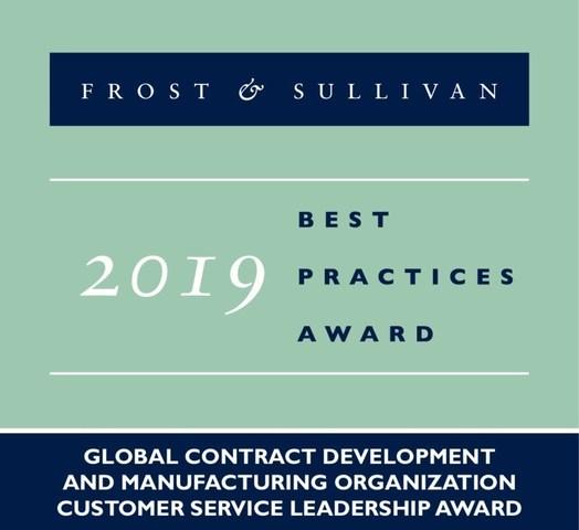 2019 Global Contract Development and Manufacturing Organization Customer Service Leadership Award