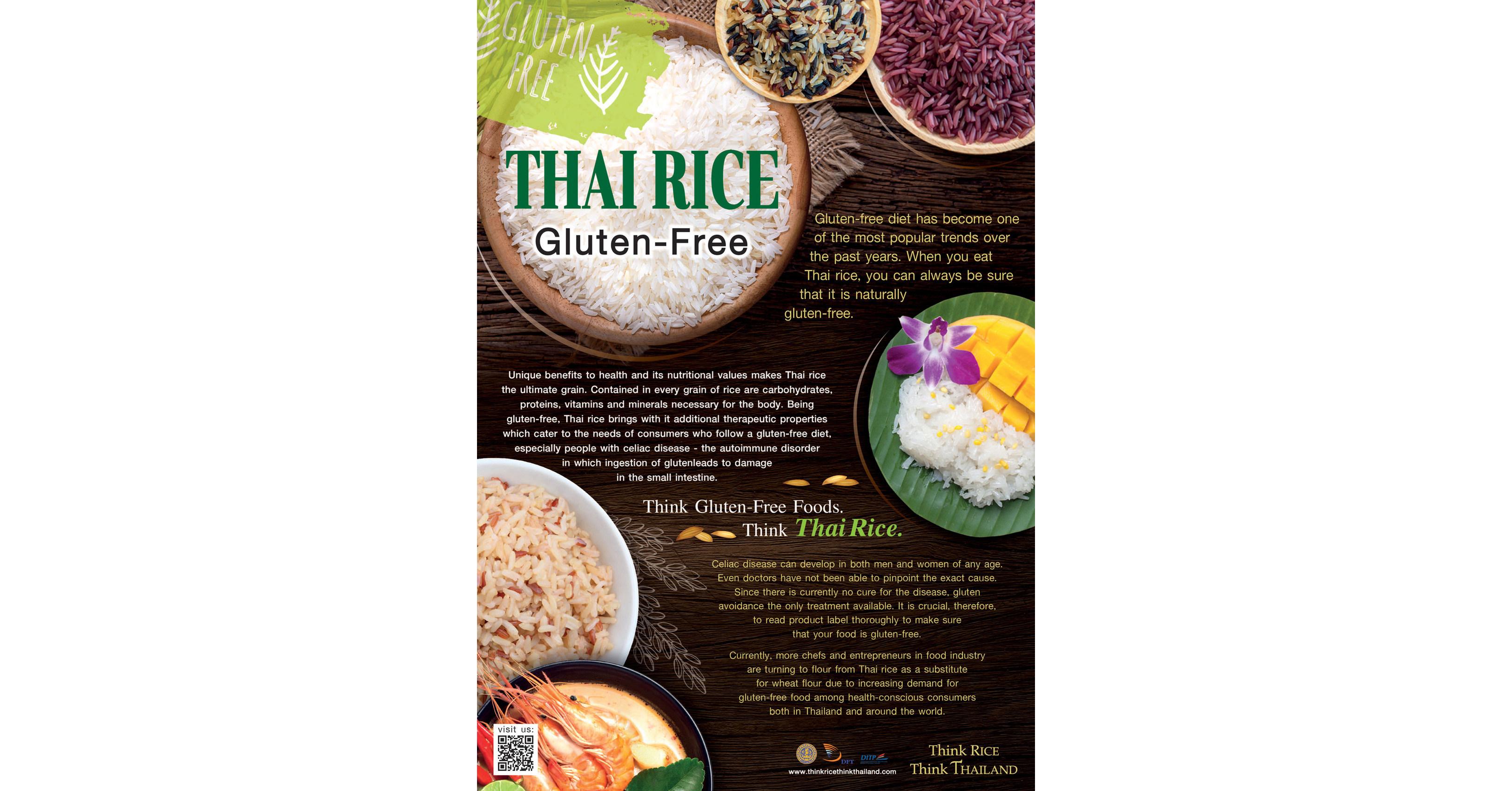 Thai Rice Plays Big Role as Gluten-free Diet