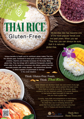 Thai Rice Plays Big Role as Gluten-free Diet