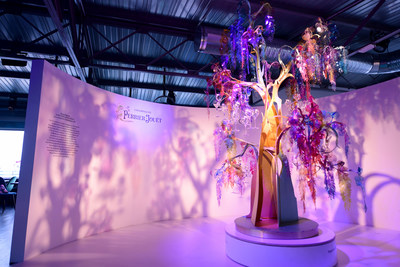 Art of the Wild Comes to Life in Paris at the Extravagant Launch of HyperNature, an Event by Perrier-Jouet