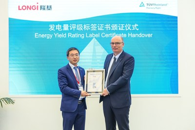 "TÜV Rheinland launched the ""Energy Yield Rating Label"""