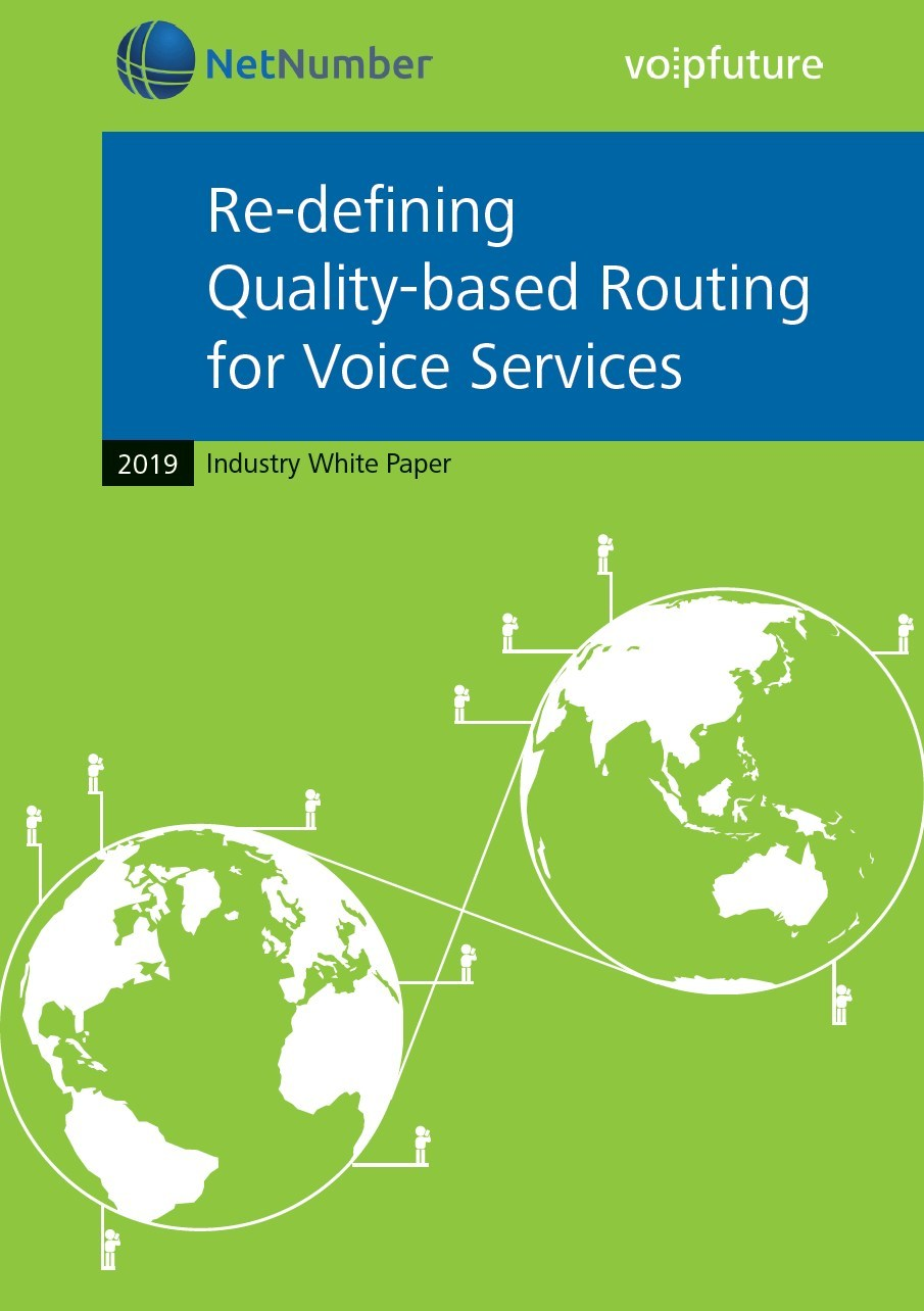 Industry White Paper: Re-defining Quality-based Routing for Voice Services