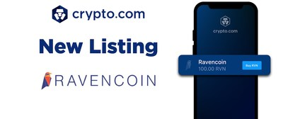 Crypto.com Lists Ravencoin's RVN