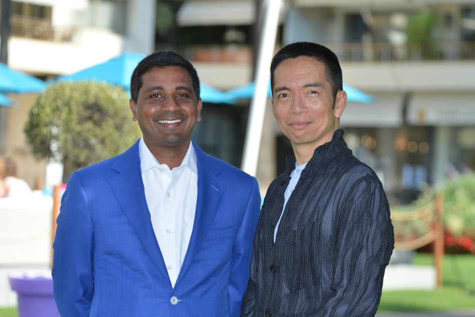 Nigel Vaz, CEO at Publicis Sapient (left) and John Maeda, Chief Experience Officer at Publicis Sapient (right).