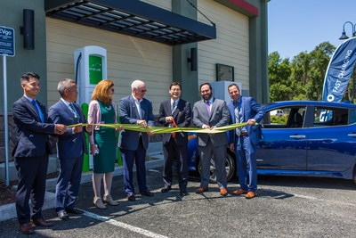 DRIVETHEARC CORRIDOR CONCLUDES BUILDOUT PHASE BY ADDING TWO EVGO-OPERATED HIGH POWER ELECTRIC VEHICLE FAST CHARGERS AND RESERVATION SYSTEM IN NORTHERN CALIFORNIA